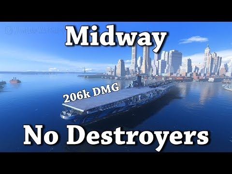 World of Warships: Midway - No DDs