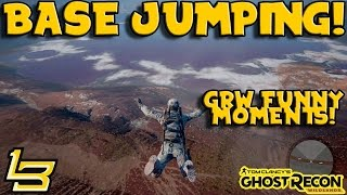 BASE JUMPING AT IT'S FINEST! (Ghost Recon Wildlands)