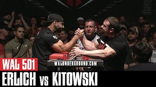 "WAL 501: Tony ""Iron Man"" Kitowski vs Doug ""The Animal"" Erlich (Official Video)"
