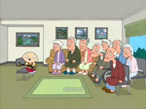 I Griffin ITA- Stewie canta ai pensionati