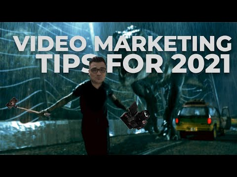 Video marketing tips for 2021