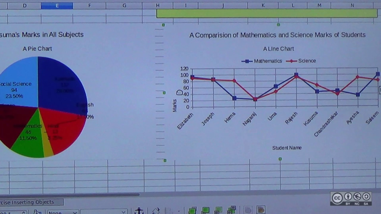 Generating Line Charts In Libreoffice Calc Youtube