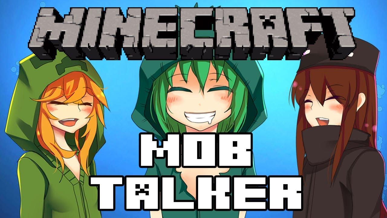 anime mod mob Minecraft talker