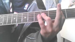 Saigon kick Love is on the way guitar lesson