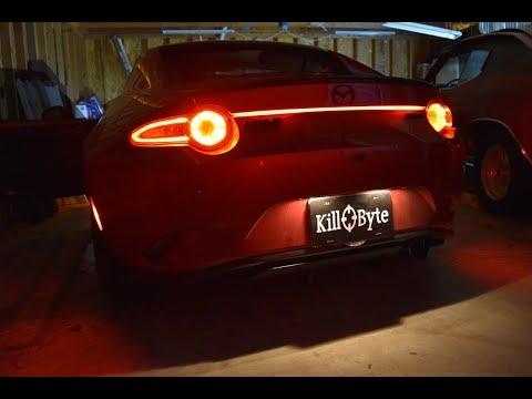 Mazda MX-5 Miata LED Light Strip Install