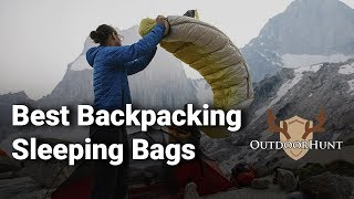 Best Backpacking Sleeping Bags: Comṗlete List with Features & Details - 2019