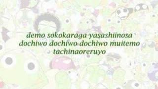 Kurutto Mawatte Ikkaiten karaoke [Keroro Gunsou, ED9]