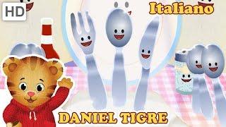 Daniel Tiger in Italiano 🍲 Divertimento Con Il Cibo | Video per Bambini