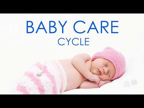 Baby care cycle Samsung washing machine white noise sleep