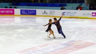 Произвольный танец Юниоры Кубок России по фигурному катанию 2020 21 Четвертый этап