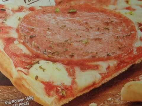 Original Wagner Steinofen Pizza Salami from YouTube · Duration:  3 minutes 45 seconds
