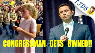 Science Denying Politician Humiliated By Girls Question About Science