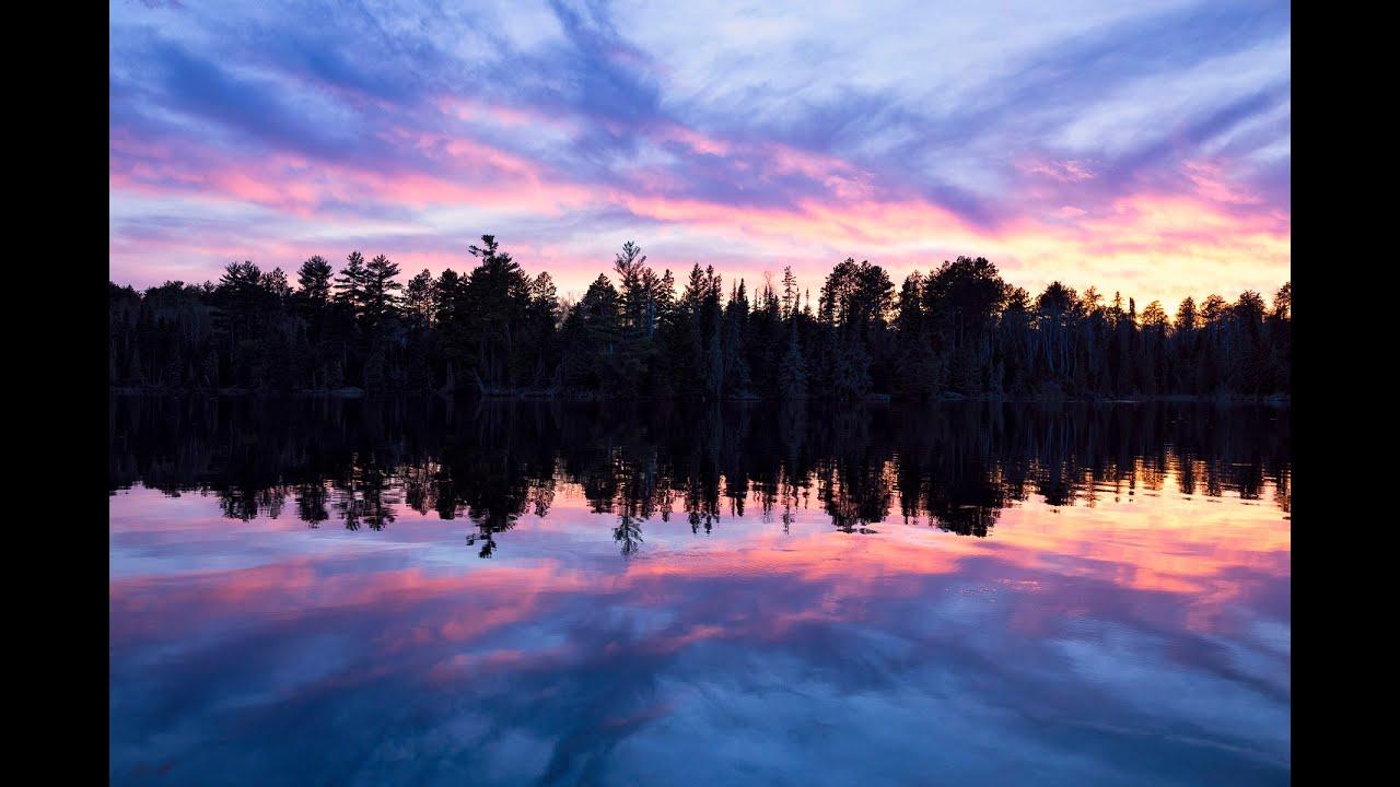 Camping at Bear Head Lake State Park
