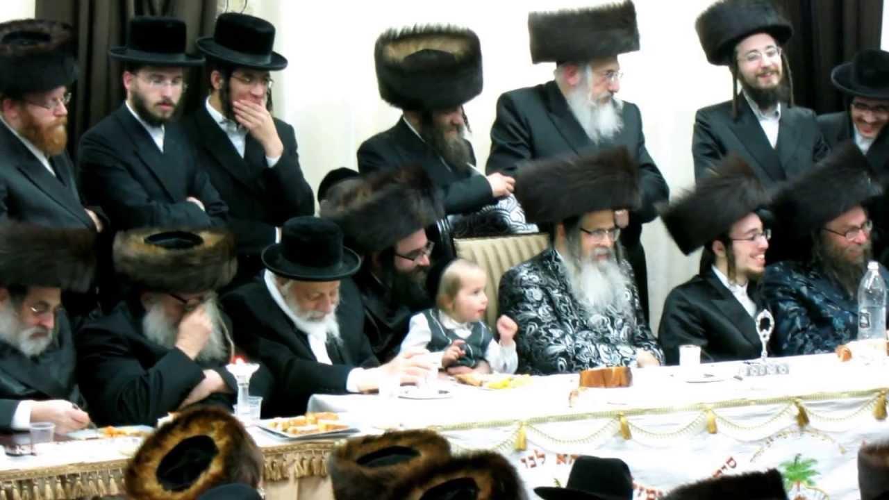 The last Satmar sheva brochos in satmar shul in Jerusalem.
