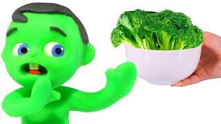 Does Kids Like Broccoli ??? ❤ Cartoons For Kids