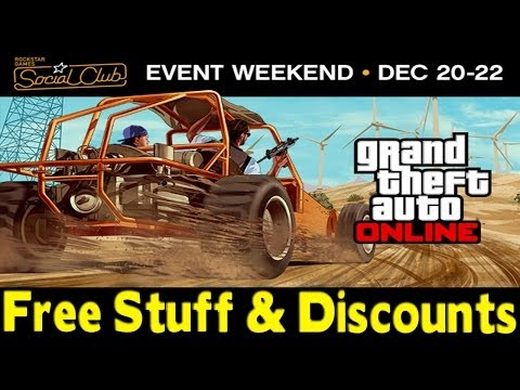GTA Online - Social Club Event Weekend! Free Stuff & Discounts! [GTA V Multiplayer]