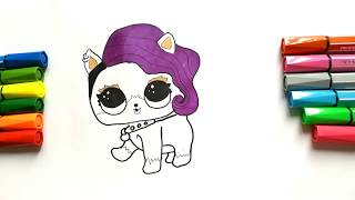 LOL PETS SURPRISE How to Draw | LOL DOLL PETS | Lol Surprise series