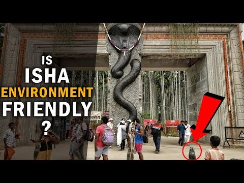 Footage from inside Isha reveal about how they deal with Environment