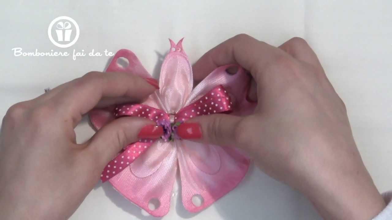 abbastanza Portaconfetti Farfalla:crea le tue bomboniere www  KM92