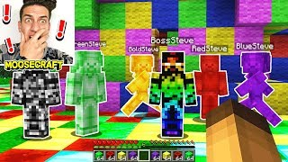 vuclip WE SUMMONED EVERY STEVE IN MINECRAFT! *BOSS STEVE SPAWNS*