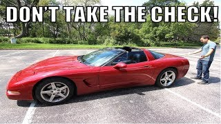 An UNDERINSURED Driver Hit My Corvette & His CUT-RATE Insurance Offered Me $330. Here's What You Do.