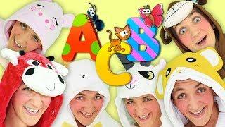 ABC Song for Kids | Super Simple Nursery Rhymes. Learn Alphabet