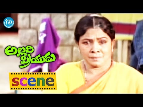 Allari Priyudu Movie - Rajasekhar And Manorama Emotional Scene | Ramya Krishna