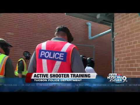 Tucson Police prepares new officers for potential active shooter situations at school