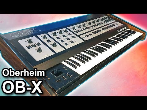 OBERHEIM OB-X analog synthesizer - Synth sounds demo