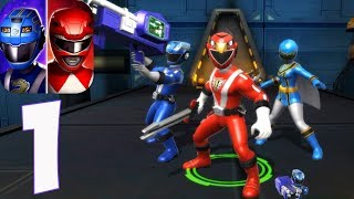 Power Rangers : All Stars - Gameplay Walkthrough Part 1(iOS, Android)
