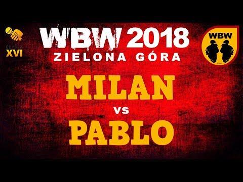 bitwa MILAN vs PABLO # WBW 2018 Zielona Góra (1/8) # freestyle battle