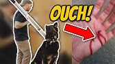Aggressive German Shepherd attacks trainer during aggressive behavior training