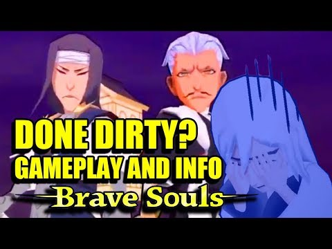 Bleach Brave Souls : Tag Team CHOJIRO SASAKIBE, Retsu, Jushiro GAMEPLAY and STATS!