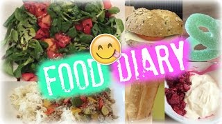 FOOD DIARY #1 & Brotstangen Rezept | Julia Beautx
