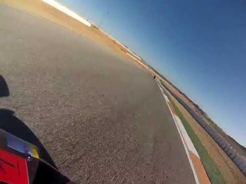 Cartagena Circuit - Onboard Kawasaki ZX6 (Mason Law)