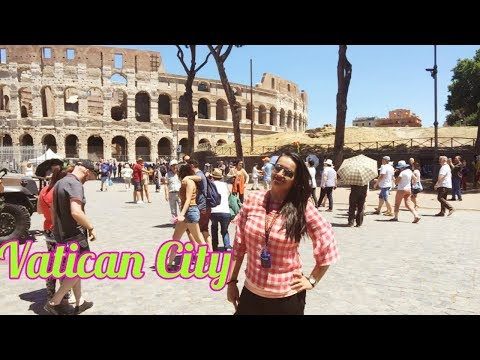 In Vatican City -Europe Trip 2017   Treasures Of Europe - Star Tours   Travel Vlogs