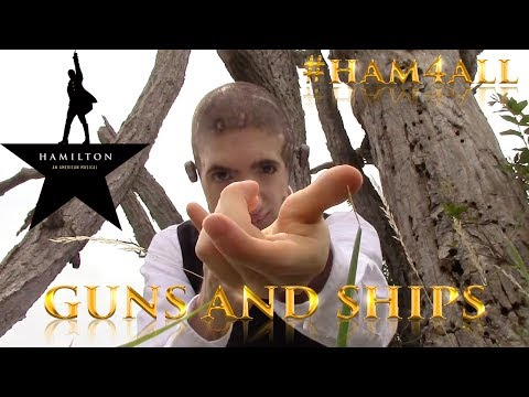 """Guns and Ships"" - Hamilton ASL Cover #Ham4All Challenge"