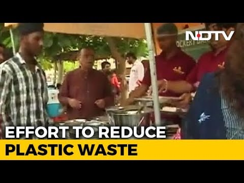 To Fight Plastic Waste, Gurugram Woman Starts A 'Steel Crockery Bank'