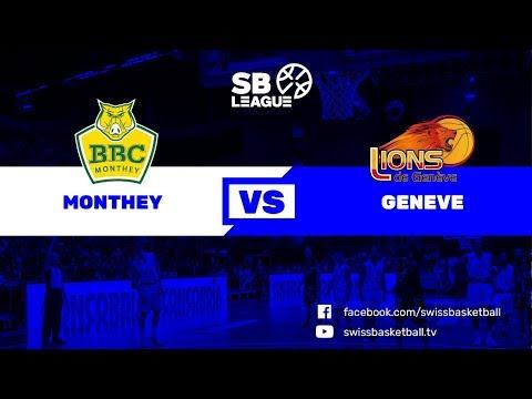 SB League - Day 18: Monthey vs. Genève
