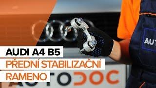 Jak vyměnit Brzdové třmeny AUDI A4 (8D2, B5) - video průvodce
