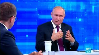 "Vladimir Putin: ""un ataque a Irán sería una catástrofe"""