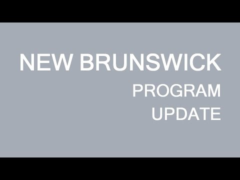 New Brunswick Provincial immigration program update. LP Group Canada