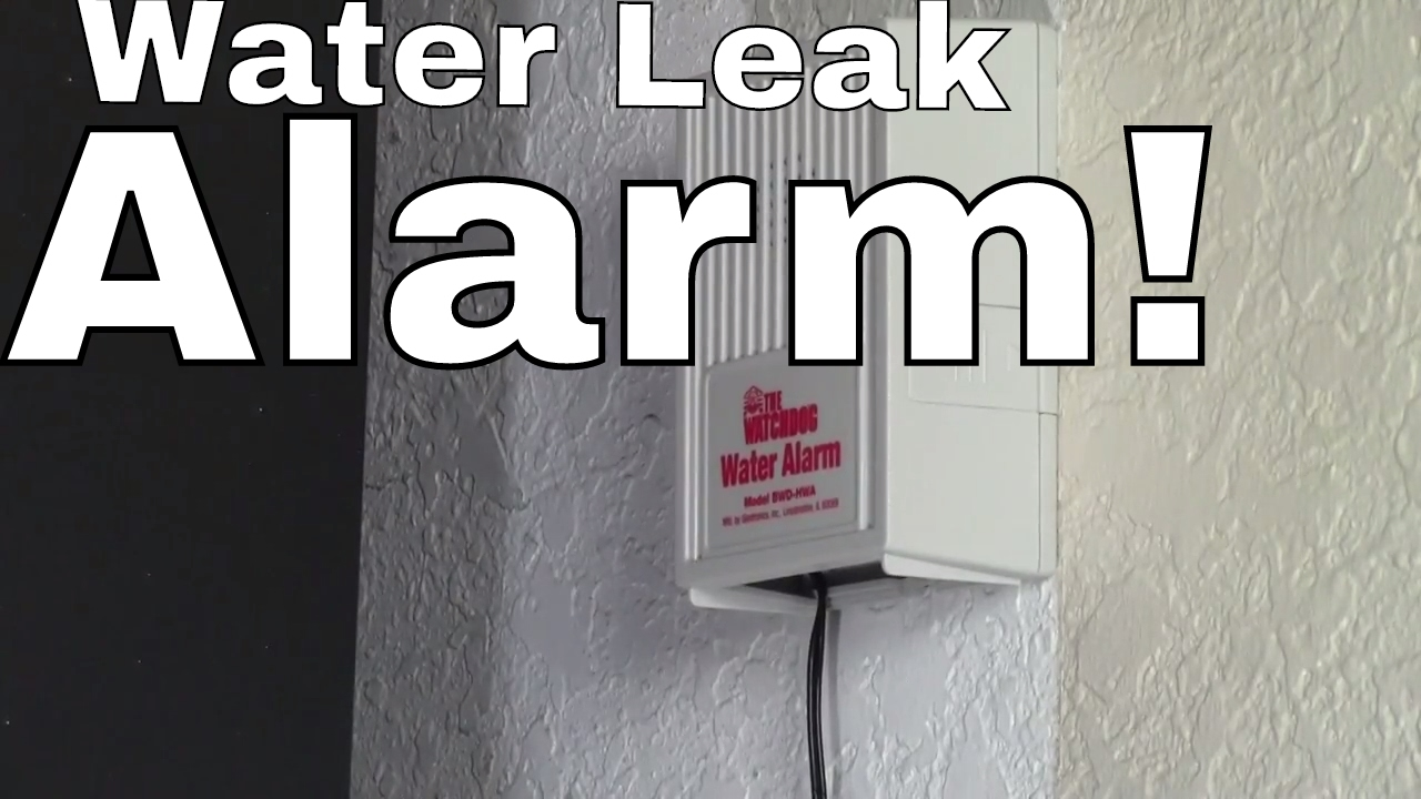 Water Leak Alarm How To Instructions And Review For Ac Level Sensor Or Liquid Detector Moisture Heaters Under Sink