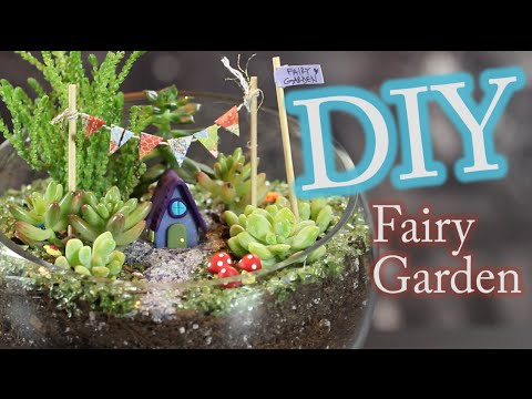 diy fairy garden and terrarium - Fairy Garden Terrarium