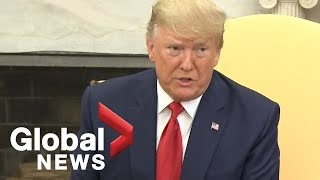 'I was not a fan of his': Trump on Epstein