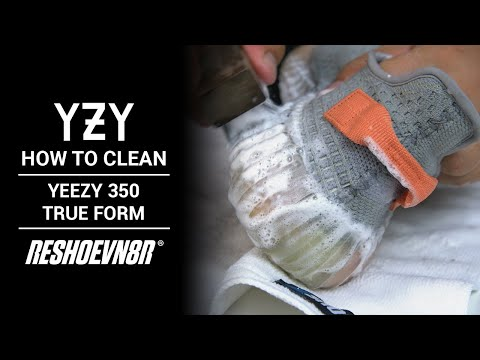 How to Clean Yeezy 350 True Form with Jonny Bubbles and RESHOEVN8R