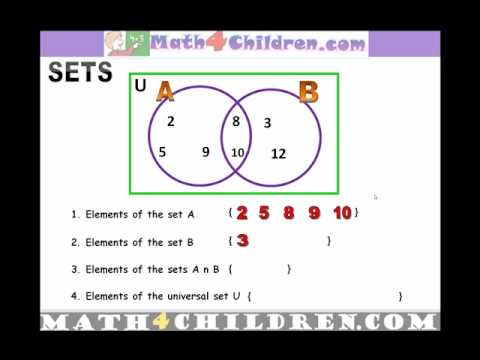 venn diagrams sets 2nd grade math youtube. Black Bedroom Furniture Sets. Home Design Ideas