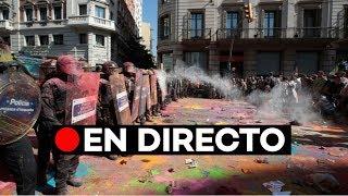 EN DIRECTO: Manifestación independentista en Barcelona