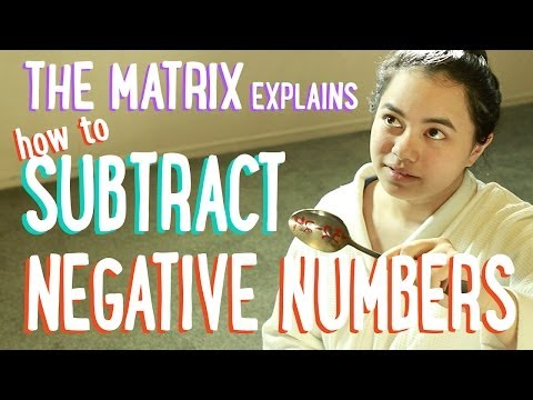 Subtracting Positive and Negative Numbers | The Matrix and Batman | PBSMathClub