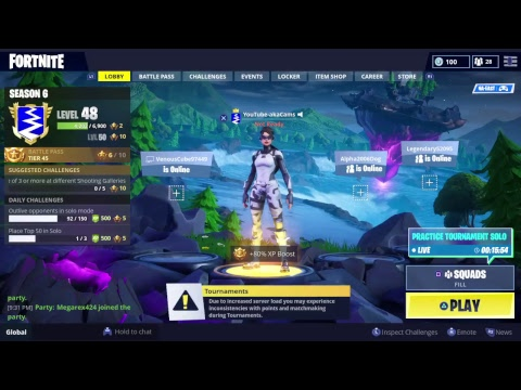 Fortnite live   Cube event tornado   Playing with subscribers   $10 psn code giveaway @ 350 subs